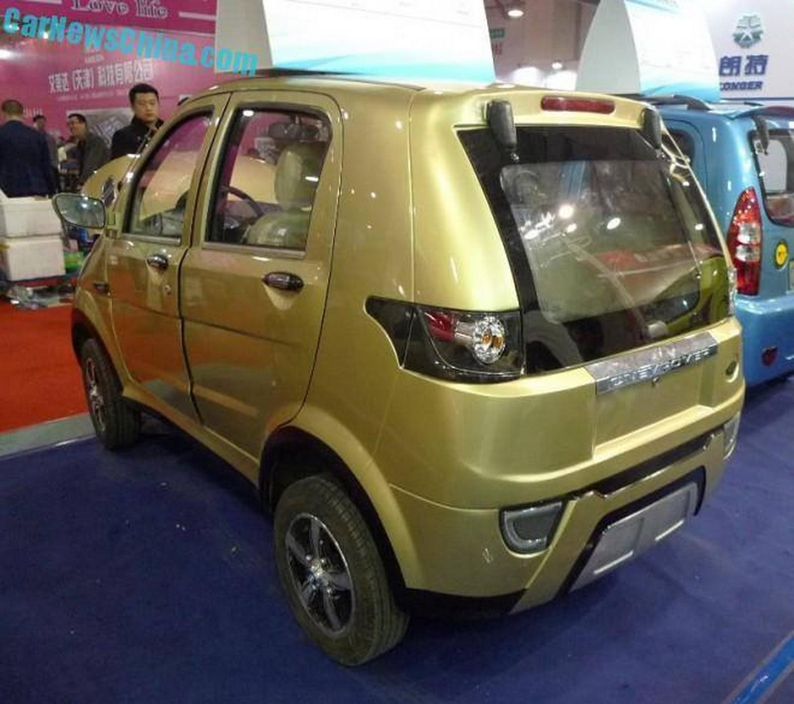 Mini-Me Range Rover Clone From China