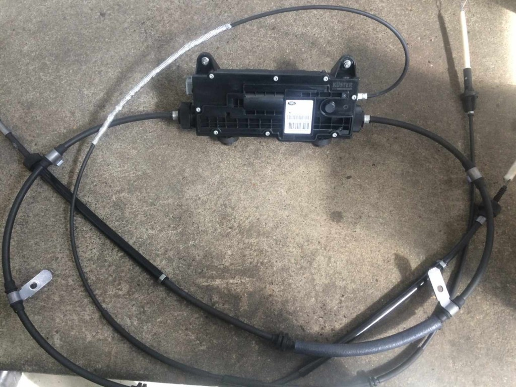 Park Brake Actuator And Actuation Module For Discovery 3 4