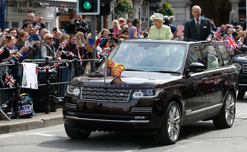 Land Rover Shares A Special Relationship With The Royals